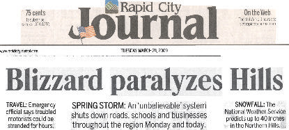 Rapid City Journal Article
